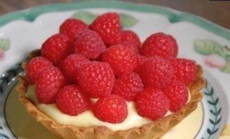 Тарталетки с малиной кулинарный рецепт