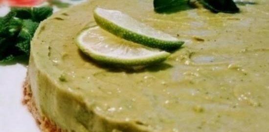 Торт с авокадо «Мохито» кулинарный рецепт