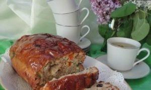 Традиционный чайный хлеб (Traditional bara brith) кулинарный рецепт