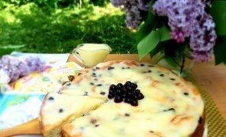 Творожная запеканка под ванильным соусом кулинарный рецепт