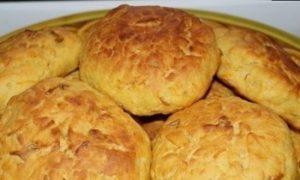 Творожно-фруктовые печенья кулинарный рецепт