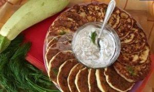 Творожно-кабачковые оладьи рецепт шаг 7