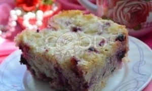 Творожно-рисовый пирог со смородиной рецепт шаг 3