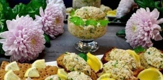 Закуска из сардины кулинарный рецепт