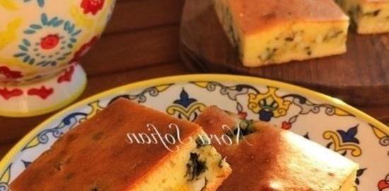 Заливной пирог с тархуном кулинарный рецепт