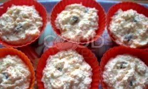 Запеченные сырники с кускусом и морковью рецепт шаг 7