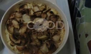 Запеканка на твороге с яблоками и грушами рецепт шаг 4