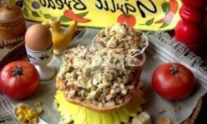 Бетерброд с яичницей-болтуньей рецепт шаг 16