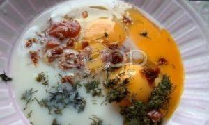 Бетерброд с яичницей-болтуньей рецепт шаг 3