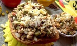Бутерброд с яичницей-болтуньей рецепт шаг 17