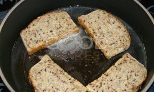 Бутерброд «Завтрак рыбака» рецепт шаг 6