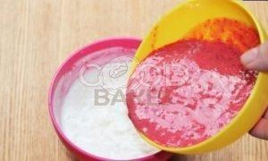 Фруктовый смузи с рисовыми хлопьями рецепт шаг 5