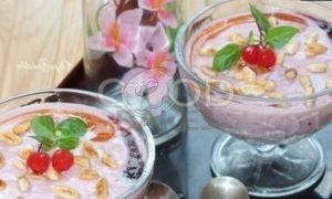 Фруктовый смузи с рисовыми хлопьями рецепт шаг 6