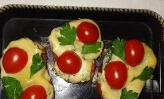 Горячие бутерброды с помидорами кулинарный рецепт