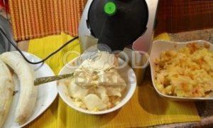 Яблочно-банановое мороженое рецепт шаг 2
