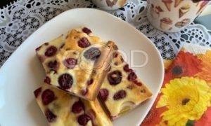 Ягодно-творожный пирог рецепт шаг 7