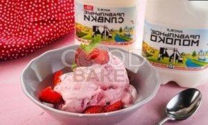 Клубничное мороженое с мятой рецепт шаг 10