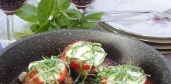 Курица «Капрезе» кулинарный рецепт
