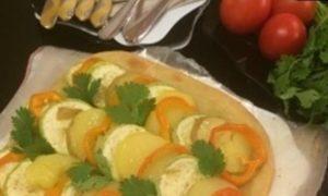 Ленивый овощной пирог кулинарный рецепт