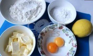 Лимонный пирог на желтках рецепт шаг 1