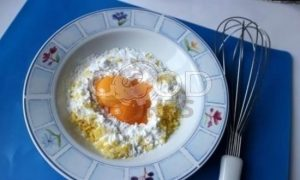 Лимонный пирог на желтках рецепт шаг 4