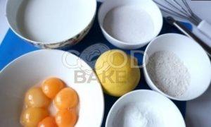Лимонный пирог на желтках рецепт шаг 8