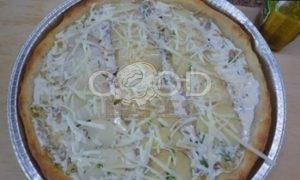 Луковый пирог с картофелем рецепт шаг 11