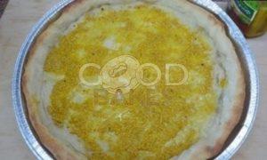 Луковый пирог с картофелем рецепт шаг 8