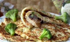 Овсяные блины с брокколи рецепт шаг 17
