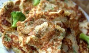 Овсяные блины с брокколи рецепт шаг 19