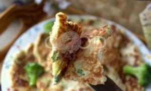 Овсяные блины с брокколи рецепт шаг 20