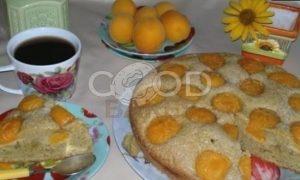 Пирог с абрикосами рецепт шаг 10