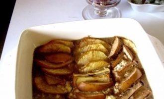 Шарлотка с яблоками кулинарный рецепт