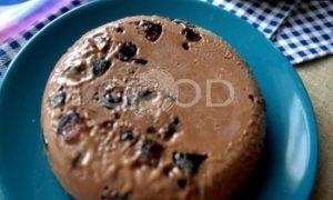Шоколадное мороженое с мармеладом рецепт шаг 20