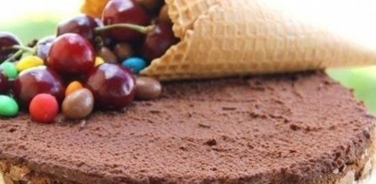 Шоколадный торт с вишней кулинарный рецепт