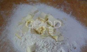 Сливочный пирог с финиками и кокосом рецепт шаг 1