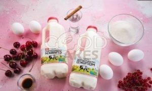 Сливочный пудинг с ягодами рецепт шаг 1