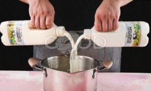 Сливочный пудинг с ягодами рецепт шаг 2