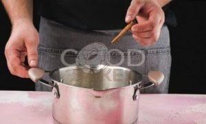 Сливочный пудинг с ягодами рецепт шаг 3
