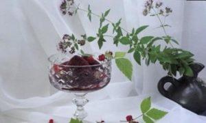 Сорбет с гибискусом и ягодами кулинарный рецепт