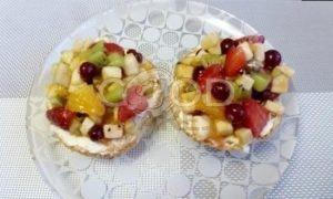 Теплые бутерброды с фруктово-ягодным компоте рецепт шаг 4