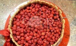 Торт «Малиновое наслаждение» рецепт шаг 5