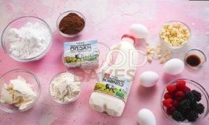 Торт-мороженое с летними ягодами рецепт шаг 1