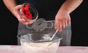 Торт-мороженое с летними ягодами рецепт шаг 8