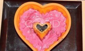 Торт-мороженое «Сердечко» рецепт шаг 7