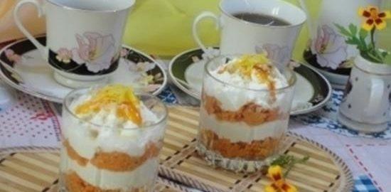 Творожно-морковный десерт на завтрак кулинарный рецепт