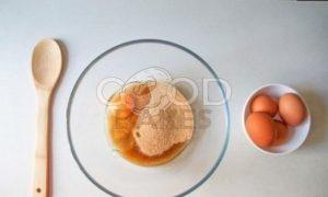 Вишневый пирог на растительном спреде рецепт шаг 2