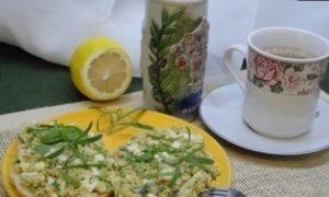 Завтрак в средиземноморском стиле кулинарный рецепт