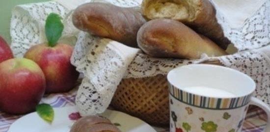 Багеты творожные с цельнозерновой мукой кулинарный рецепт