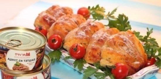 Булочки «Ракушки» кулинарный рецепт